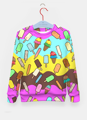Sadaf Hamid Sweat Shirt Ice Cream Treats Sweater Women