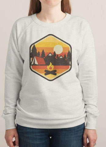 Sadaf Hamid Sweat Shirt RETRO CAMPING WOMEN SWEAT SHIRT