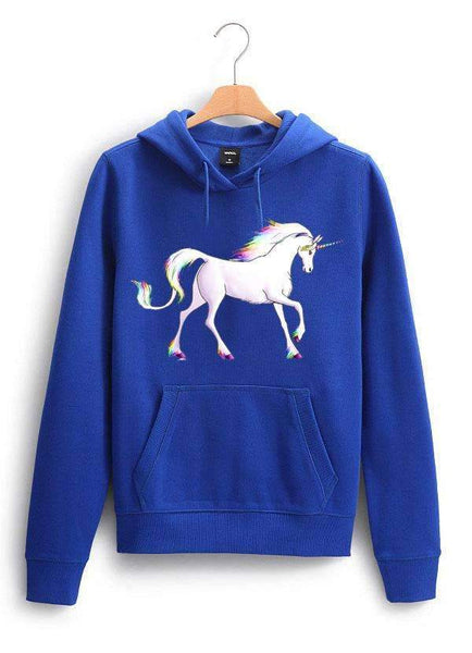 Sadaf Hamid Sweat Shirt Unicorn 2  WOMEN HOODIE