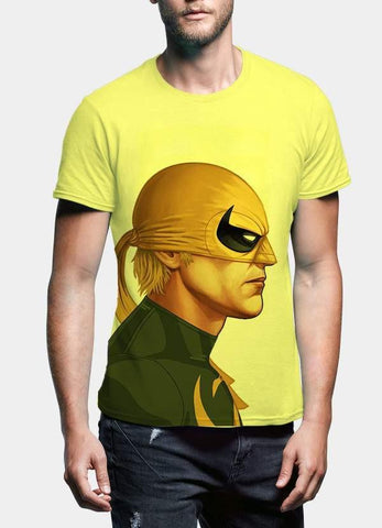 Saif Ul Haq T-SHIRT Mask Men Portrait T-Shirt