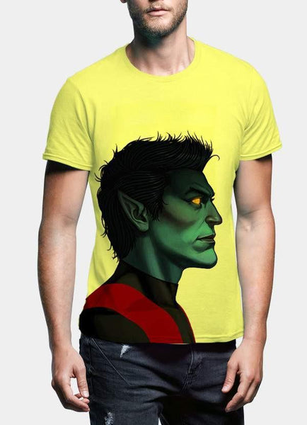 Saif Ul Haq T-SHIRT NIGHT CRAWLER Portrait T-Shirt
