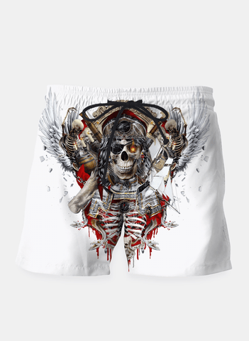 SANA NAZ Shorts Pirate Skull Shorts