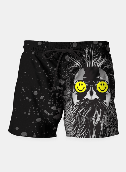 SANA NAZ Shorts Trip Hop Pop Shorts