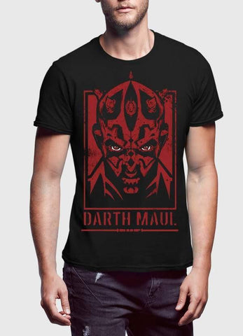 STAR WAR T-SHIRT Darth Maul Printed Tshirt