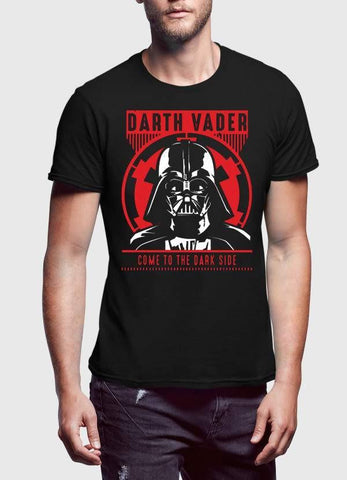 STAR WAR T-SHIRT DARTH VADER (GLOW IN THE DARK) PRINTED TSHIRT