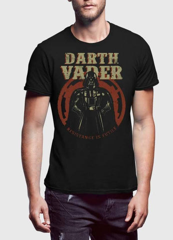 STAR WAR T-SHIRT RESISTANCE IS FUTILE