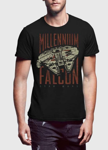 STAR WAR T-SHIRT RETRO FALCON