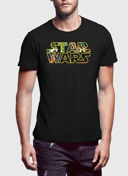 STAR WAR T-SHIRT STAR WARS Printed Half Sleeves Tshirt