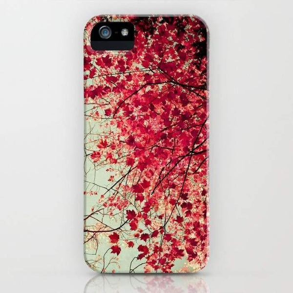 Threadless Mobile Cover Autumn Inkblot Mobile Cover