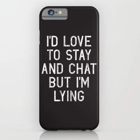 Threadless Mobile Cover Chat Mobile Cover