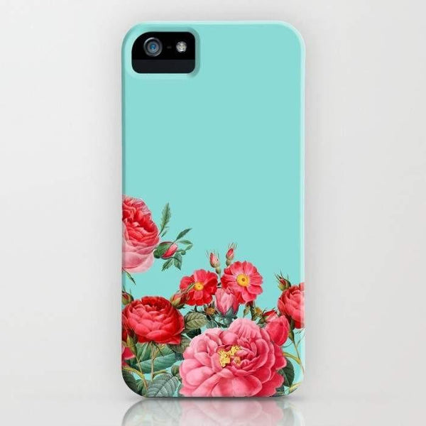 Threadless Mobile Cover Fab Floral Mobile Cover