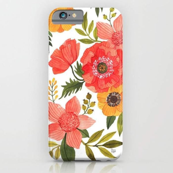 Threadless Mobile Cover Flower Power Mobile Cover