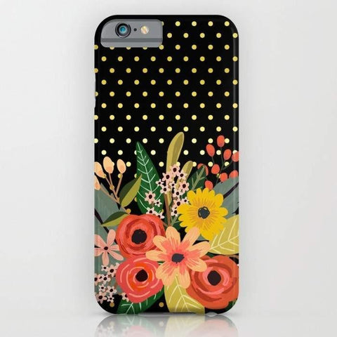 Threadless Mobile Cover Flowers Bouquet Mobile Cover