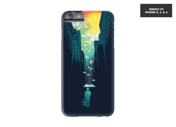 Threadless Mobile Cover I Want My Blue Sky Mobile Cover