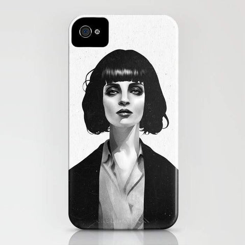 Threadless Mobile Cover Mrs Mia Wallace Mobile Cover