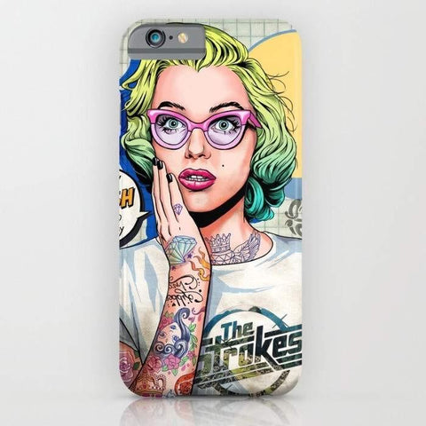 Threadless Mobile Cover Oh My Gosh, Marilyn Mobile Cover