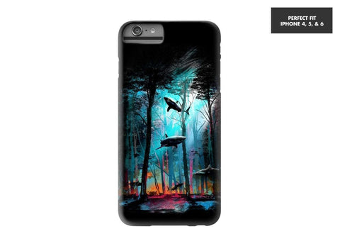 Threadless Mobile Cover Shark Forest Mobile Cover