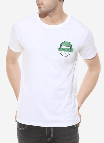 Tipu Sultan T-shirt SMALL / White Hulkster Half Sleeves T-shirt