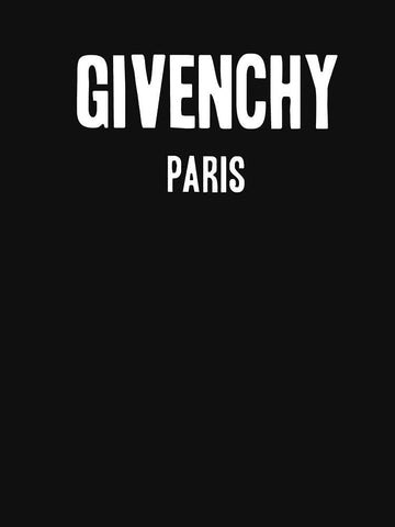 Tommy Nease Full Sleeves T-Shirts Givenchy Paris BLACK FULL SLEEVES T-SHIRT