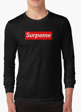 Tommy Nease Full Sleeves T-Shirts Supreme Surpeme Hypebeast Swag black BLACK FULL SLEEVES T-SHIRT