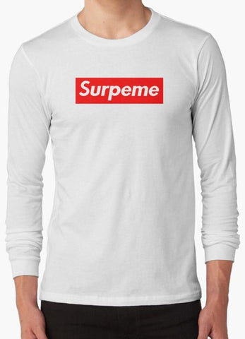 Tommy Nease Full Sleeves T-Shirts Supreme Surpeme Hypebeast Swag  WHITE FULL SLEEVES T-SHIRT