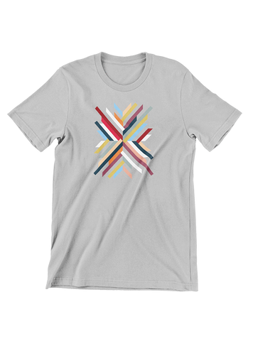 Tommy Nease T-SHIRT Abstract Geometric Grey T-Shirt