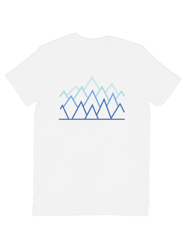 Tommy Nease T-SHIRT Abstract Mountains T-Shirt