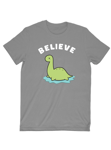 Tommy Nease T-SHIRT Believe in Loch Ness Monster T-Shirt