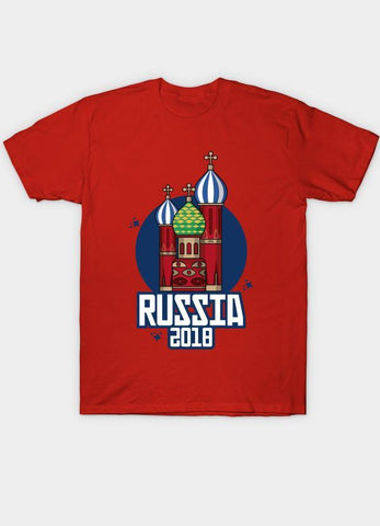 Usman Ali T-SHIRT Russia 2018 Red  T-Shirt