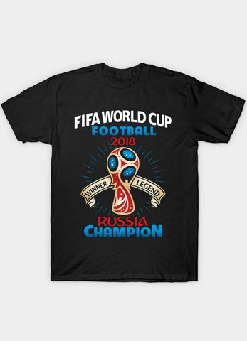 Usman Ali T-SHIRT WORLD CUP  Black T-Shirt