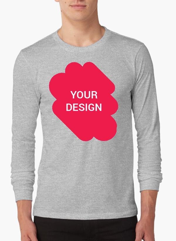 superior performance buy online 2019 real Design your own Full Sleeves T-shirt | Custom T-Shirt | T-Shirt Printing  Online