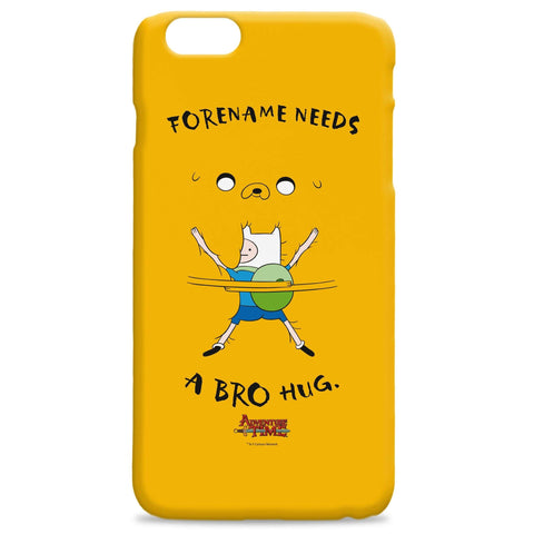 Virgin Teez Mobile Cover Adventure Time Bro Hug iPhone Case