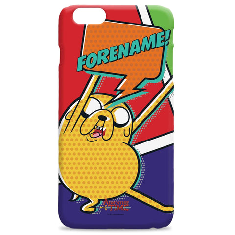 Virgin Teez Mobile Cover Adventure Time Jake Comic iPhone Case