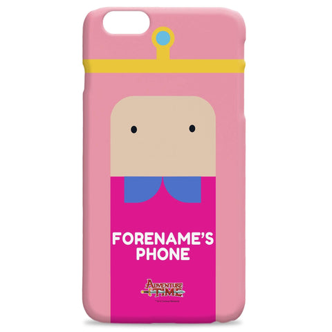 Virgin Teez Mobile Cover Adventure Time Princess B Flat iPhone Case