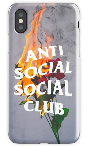 Virgin Teez Mobile Cover Anti Social Social Club Mobile Cover