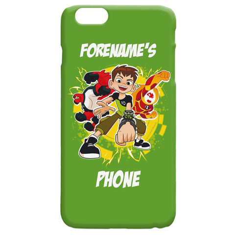 Virgin Teez Mobile Cover Ben 10 Names iPhone Case