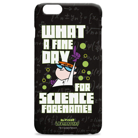 Virgin Teez Mobile Cover Dexter's Lab Fine Day iPhone Case
