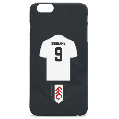 Virgin Teez Mobile Cover Fulham FC Shirt Hard Back Phone Case
