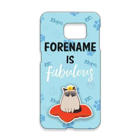 Virgin Teez Mobile Cover Grumpy Cat Emoji - Fabulous