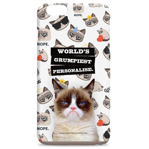 Virgin Teez Mobile Cover Grumpy Cat - World's Grumpiest Phone Case
