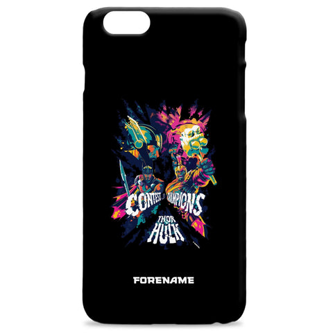 Virgin Teez Mobile Cover Marvel Thor Ragnarok Colour Badge Phone Case