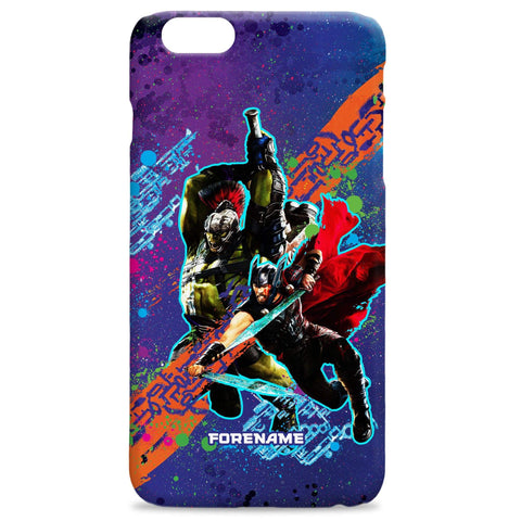 Virgin Teez Mobile Cover Marvel Thor Ragnarok Colour Splash Phone Case