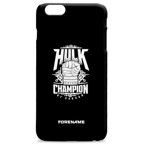 Virgin Teez Mobile Cover Marvel Thor Ragnarok Hulk Badge Phone Case