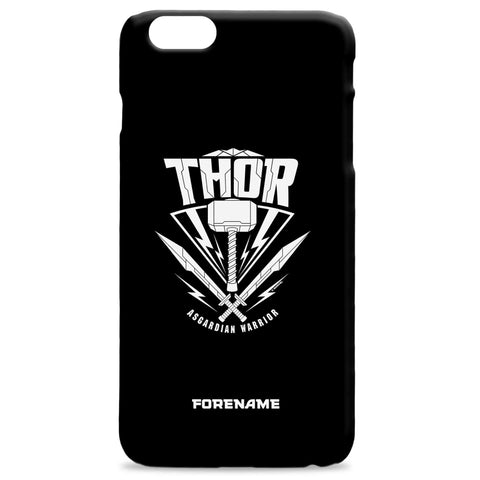 Virgin Teez Mobile Cover Marvel Thor Ragnarok Thor Badge Phone Case