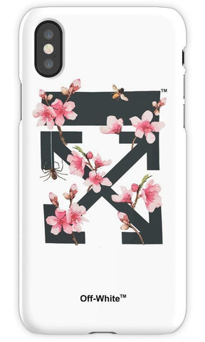 Virgin Teez Mobile Cover Off White Cherry Blossom Mobile Cover
