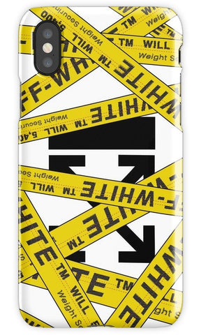 Virgin Teez Mobile Cover Off White Strapped Mobile Cover
