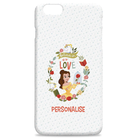Virgin Teez Mobile Cover Princess True Belle Hard Back Phone Case
