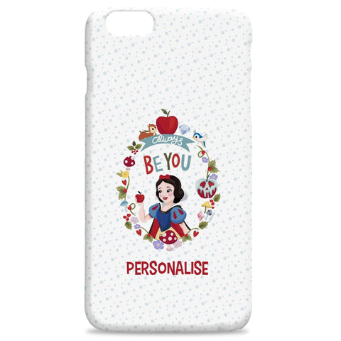 Virgin Teez Mobile Cover Princess True Snow White Hard Back Phone Case