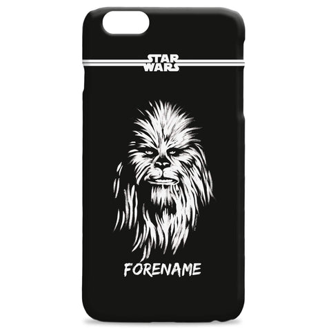 Virgin Teez Mobile Cover Star Wars Chewbacca Paint iPhone Phone Case