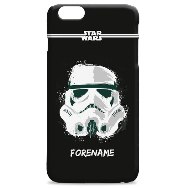 Virgin Teez Mobile Cover Star Wars Storm Trooper Paint iPhone Phone Case